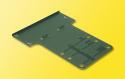 Viessmann 6837, $ $ Befestigungsbleche für Hobby-Signale 5 St.