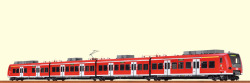 $ H0 Triebwagen 425 DB Regio, V, NRW, DC/S