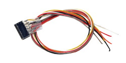 cable harness with 6-pin plug according to NEM 651, DCC colour, length 300mm