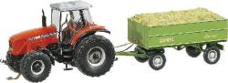 MF Tractor with trailer (WIKING)