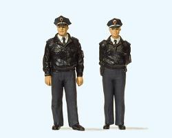 LGB Polizisten stehend (blau