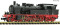 Fleischmann 707584 Steam locomotive BR 78 DB DCC