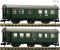 Fleischmann 809908 2 piece set conversion    coaches, DB