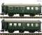 Fleischmann 809909 2 piece set conversion    coaches, DB