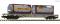 Fleischmann 825214 Container carrier wagon, Bertschi