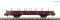 Fleischmann 825744 Swivel stanchion trolley brown