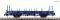 Fleischmann 825747 Swivel stanchion trolley blue