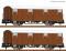 Fleischmann 826210 Set of 2:Covered goods wagon Glmms 15.