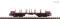 Fleischmann 826707 4-axle flat wagon Rmms 663 DB