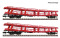 Fleischmann 829502 2-piece set car transport trolley