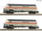 Fleischmann 849101 2 piece set pressure gas tank wagons, NS