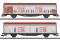Märklin 48345 Sliding wall wagon set Hbbills, CC, VI