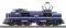 Piko 40465 N-E-Lok Rh 1200 blau NS Logo