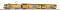 Piko 96975 Start Set E-Lok + 2 Doppelstockwagenwagen NS