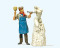 Preiser 44901 LGB Bildhauer, Skulptur