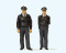 Preiser 44909 LGB Polizisten stehend (blau