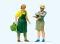 Preiser 44928 LGB Gartenpflege