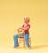 Preiser 45508 LGB Sitzende auf Stuhl