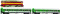 ROCO 41354 Digi-Set: Diesellok 753 + Per