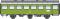 ROCO 74451 Rekowagen 3a. Sitzwagen DR