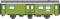 ROCO 74455 Rekowagen 3a. Gepackwagen DR