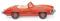 Wiking 083408 MB 300 SL Roadster - orange